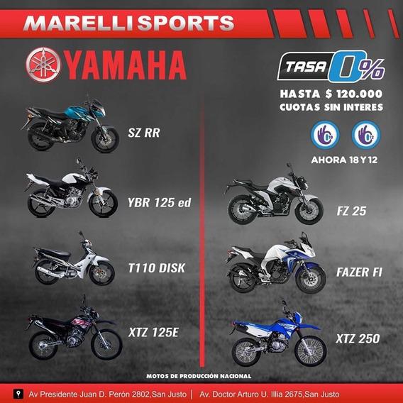 Yamaha Crypton 12 O 18 Cuotas Sin Interés, Marellisports