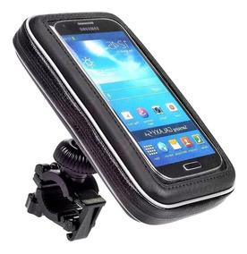 Suporte Porta Celular Gps Guidão Bike Moto iPhone Samsung 6