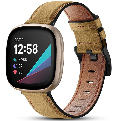 Imagen 1 de 8 de Compatible Con Fitbit Versa 3 Y El Sentido De Fitbit Ba...