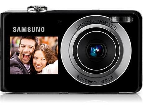 Câmera Samsung Pl100 12mp Zoom Ótico+acessórios