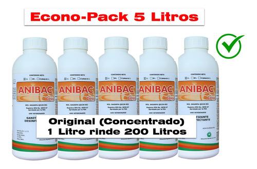 Imagen 1 de 3 de Anibac Citrico 5 Litro Sanitizante Concentrado 4a Generacion