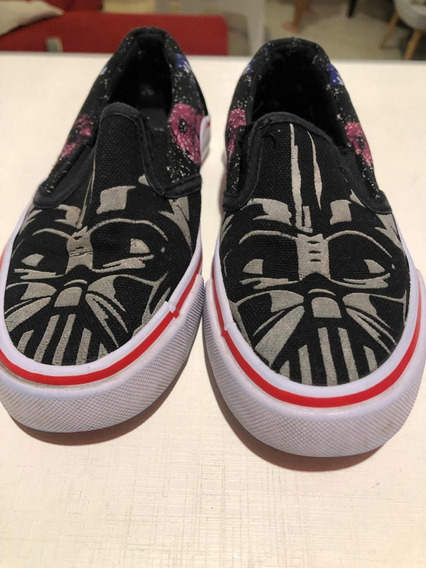 Alpargatas/panchas Starwars Darth Vader T29 Advance Sin Uso