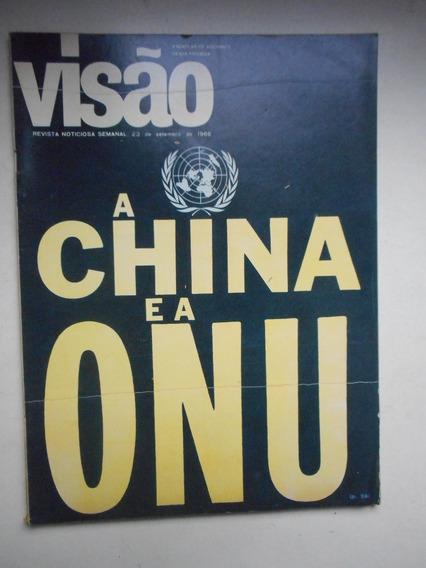 Revista Visão - Set/1966 - China, Onu, Política, Economia