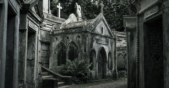 Halloween Decoracion Combo Cementerio Set 28 Art.ultra Tumba