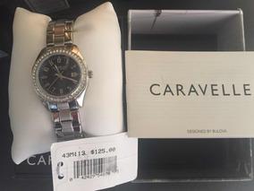 Reloj De Dama Caravelle By Bulova
