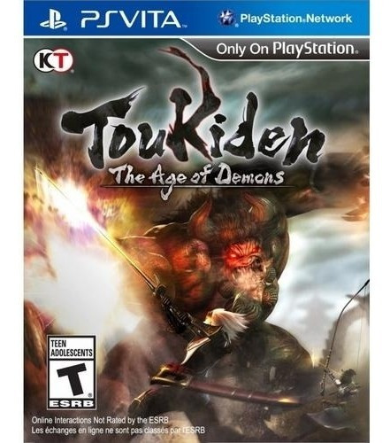 Toukiden: The Age Of Demons = Ps Vita Rcr Games