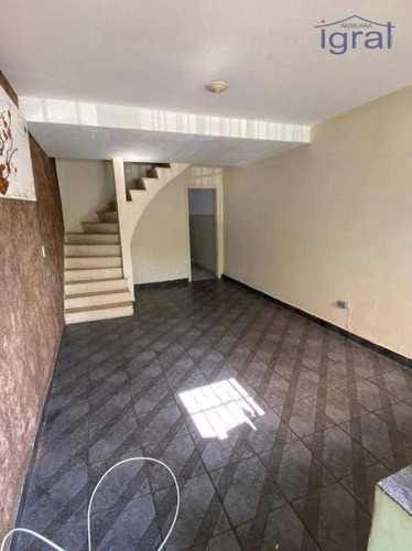 Imagem 1 de 12 de Sobrado Com 2 Dormitórios Para Alugar, 90 M² Por R$ 1.900,00/mês - Vila Do Encontro - São Paulo/sp - So0463