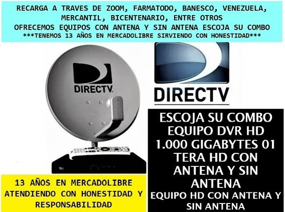 Decodificador Dvr 1.000gb Hd Directv Graba Y Sin Grabar Vzla