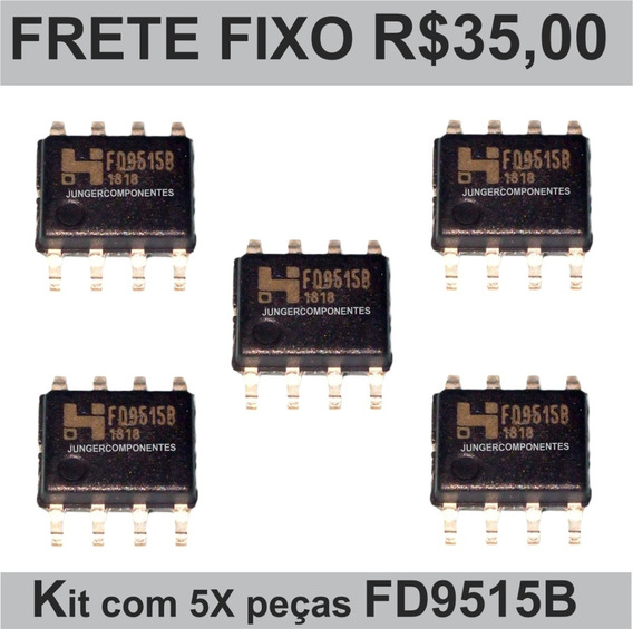 Kit C/5 Peças Fd9515b, Fd9515, 9515b, Original Ci Reg Tuner
