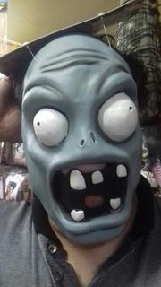 Mascara Plantas Vs. Zombies Infantil Latex Halooween Chirimb