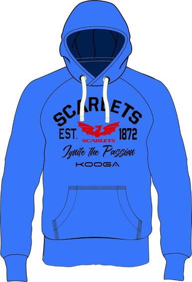 Buzo Canguro Kooga Scarlets - 16 Al 3xl