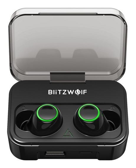 Blitzwolf Fone De Ouvido Headsets Bluetooth 5.0 Sem Fio Verd