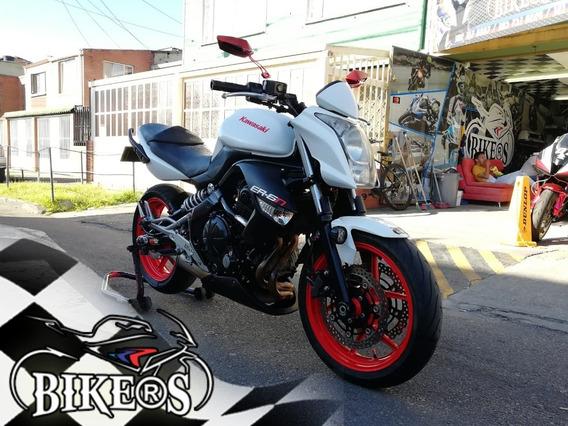Kawasaki Er6n 2011 ¡¡ Recibimos Tu Moto @bikers!!!