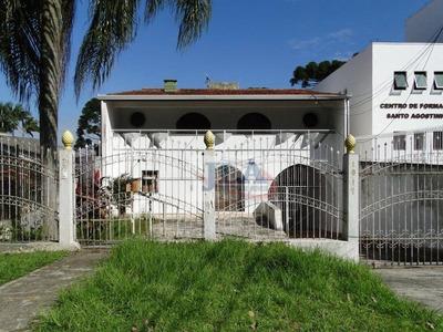 Casa Para Alugar, 390 M² Por R$ 5.000/mês - Ahú - Curitiba/pr - Ca0176