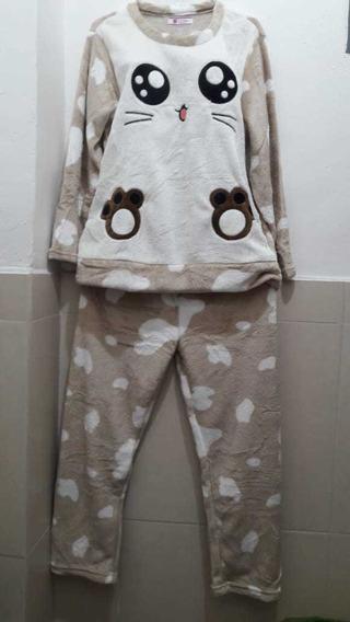 Sesto Senso/® Pijama Mujer Algodon 100/% Ropa De Dormir Conjunto de 2 Piezas Camisa Manga Larga o Corto Pantalones Largos o 3//4 con 2 Bolsillos