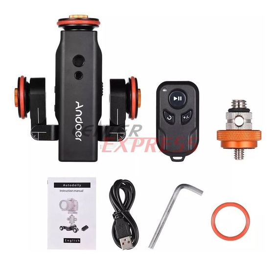 Dolly Slide Motorizado Andoer Dslr Gopro iPhone Sony Canon