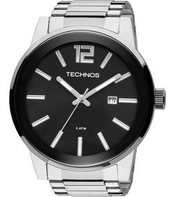 Relógio Technos Golf Masculino Prata 2115tu/1p Original