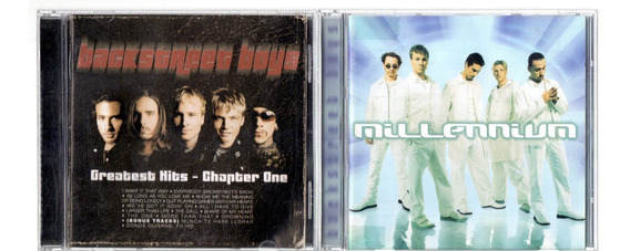 3 Cds Backstreet Boys Millennium, Greatest Hits + Single