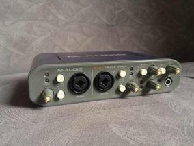 M Audio Fast Track Pro Funcionando