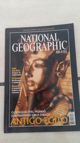 Revista National Geographic-antigo Egito(colecionador)