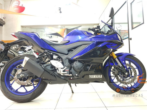Yamaha Yzf R3 Azul 2020