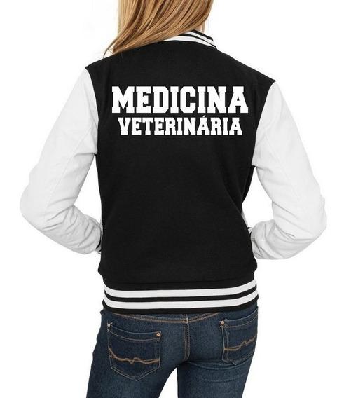 Jaqueta Feminina Inverno Personalizada Medicina Veterinária