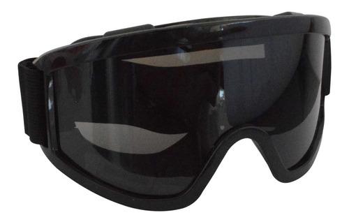 Gafa Moto Len-negro (norma Ansi Z87.1+en166f+fil Uv)