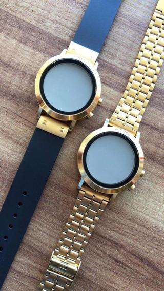 Relógio Euro Digital Dourado