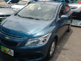 Chevrolet Onix Lt 1.0 Completo 2014 Azul Flex