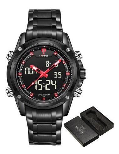 Relógio Masculino De Pulso Naviforce 9050 - Premium C/ Caixa