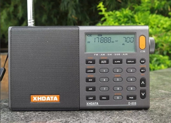 Rádio Xhdata D-808 Am/fm/lw/sw/ssb Aviacao Radio Amador Px