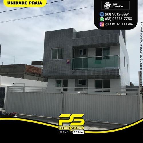 Apartamento Com 2 Dormitórios À Venda, 41 M² Por R$ 130.000 - Mangabeira - João Pessoa/pb - Ap4665