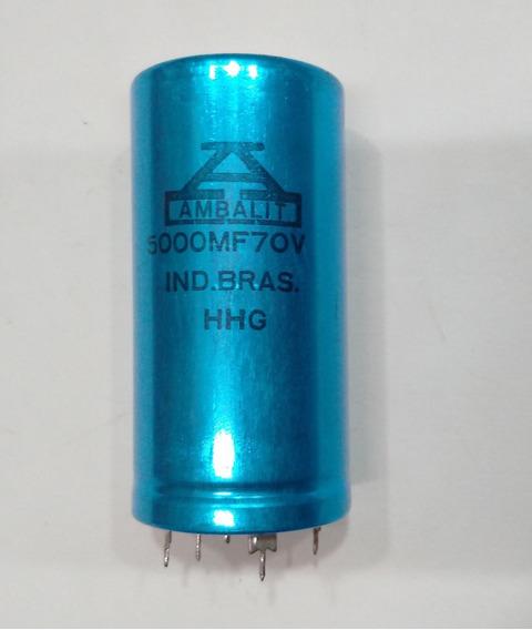 Capacitor Eletrolítico 5000 Mf/70v Do Pa 1800 Cygnus Origi.