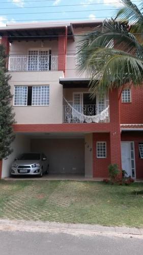 Casa Com 4 Dormitórios À Venda, 250 M² Por R$ 690.000 - Condomínio Residencial Mirante Do Lenheiro - Valinhos/sp - Ca2265