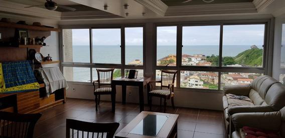 Apto À Venda Com Vista Panorâmica Para O Mar Em Itanhaém.358
