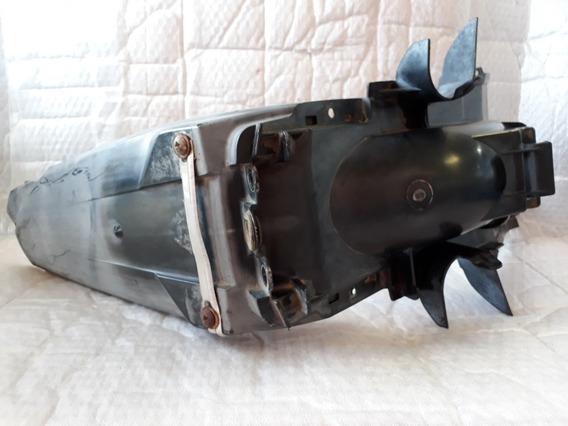 Paralama Traseiro Suporte Placa Biz 125 07 Orig Usado Detalh