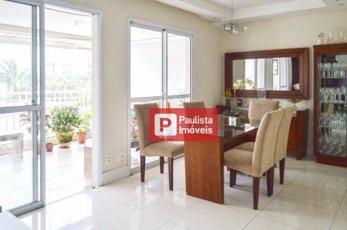 Apartamento Com 3 Dormitórios À Venda, 107 M² Por R$ 785.000,00 - Socorro - São Paulo/sp - Ap24688