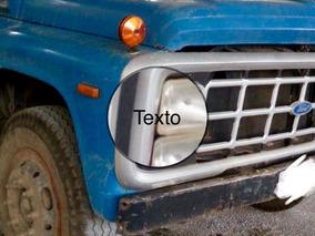 Ford F11000 Tanque Pipa Ano 1990 Super Novo