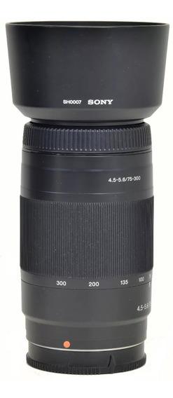 Objetiva Sony A 75-300mm 4.5