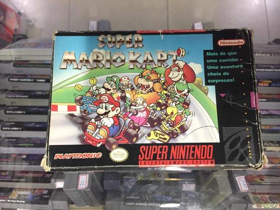 Super Mario Kart - Original Super Nintendo Playtronic Usado