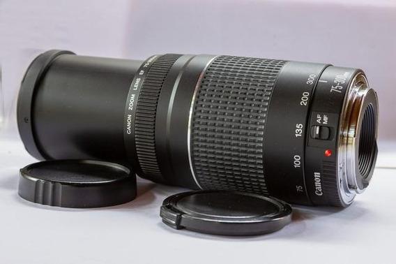 Lente Canon Ef 75-300 Mm