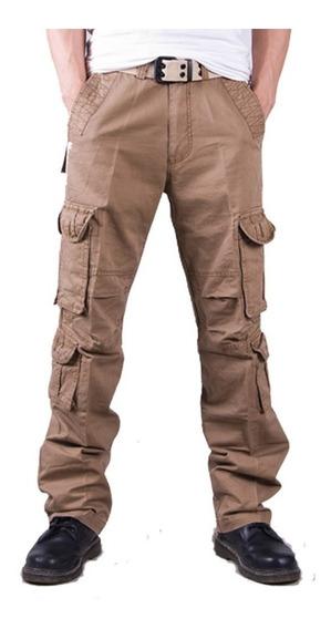 Hombres Excursionismo Pantalones Pantalones Táctico Militar