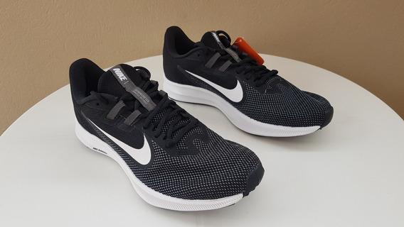 Tenis Nike Downshifter 9, Preto + Branco, Masculino, Original