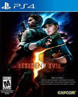 Resident Evil 5 - Ps4 - Digital - Manvicio