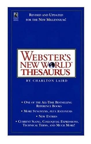 Webster's New World Thesaurus. Charlton Laird