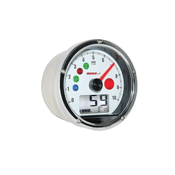 Velocímetro Multifuncional Tnt-01 Blanco Ba035w00 De Koso