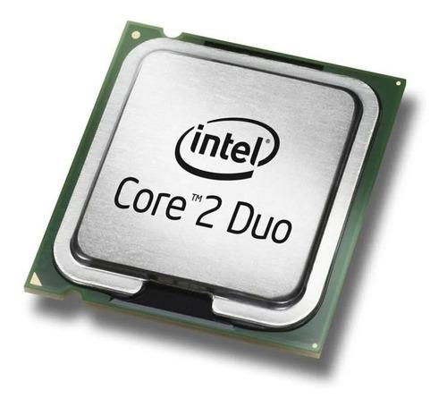 Imagem 1 de 6 de Processador Core 2 Duo E7500 + Hd Sata 500gb