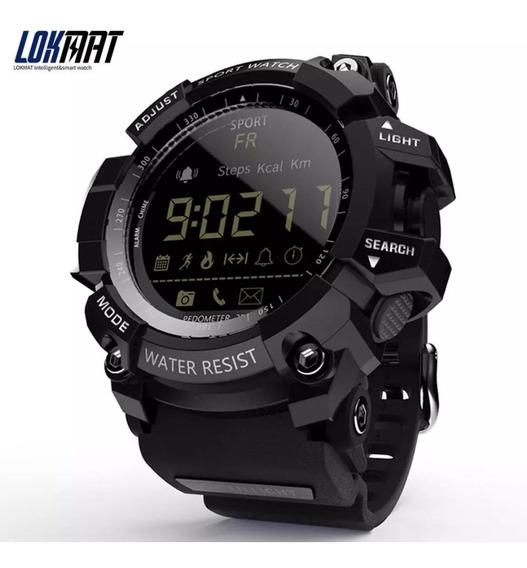 Relógio Militar Multifunções Esportivo Preto Promoção Top