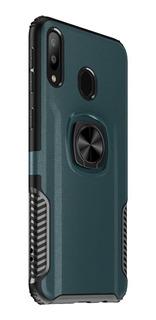 Capa Anti Impacto Anel Samsung Galaxy A30+pelicula Vidro 3d