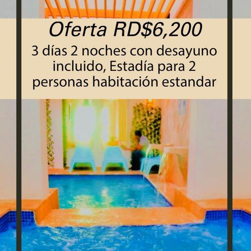 Imagen 1 de 10 de Oferta Especial Apertura Rig Puerto Malecon Zona Colinial